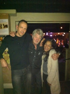 At Hugh's Room, Toronto, with Tom Cochrane and Molly Johnson